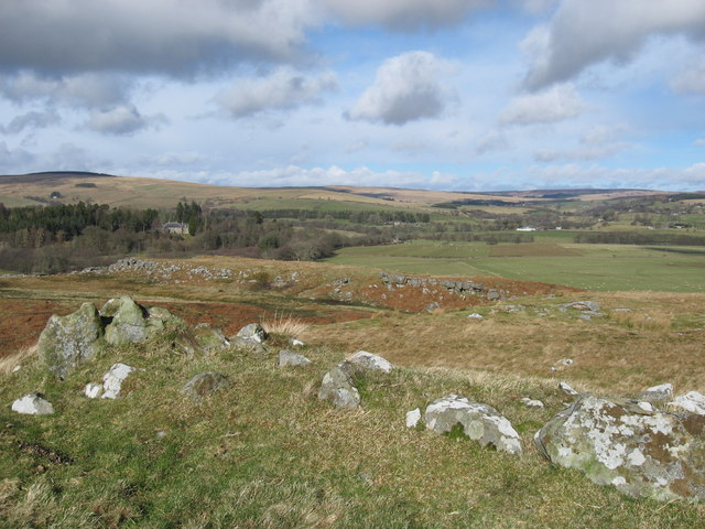 Crags on Snabdaugh Moor