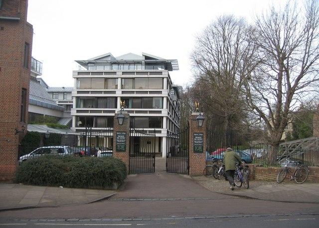 Main Gate - Queens' College
