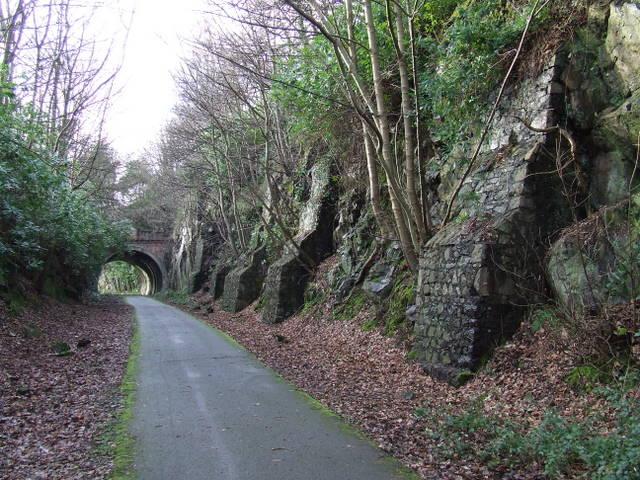 Rock buttresses