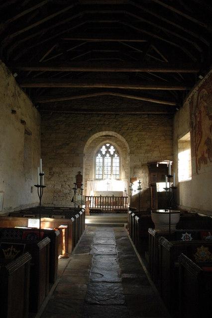 Interior of Teddington Church