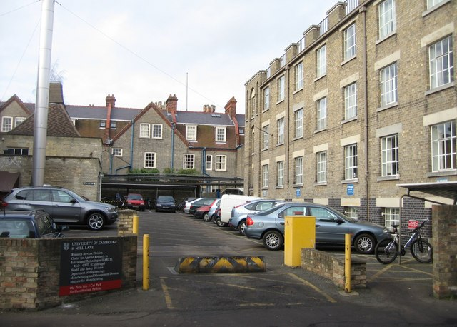 Old Press Site car park - Cambridge University