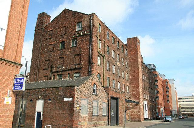 Runcorn's Chatham Mill, Chester Street, Chorlton on Medlock