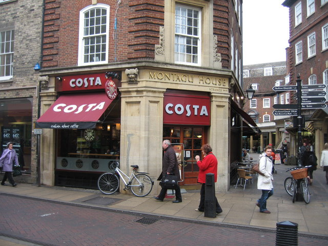 Costa - corner of Sussex Street & Sidney Street