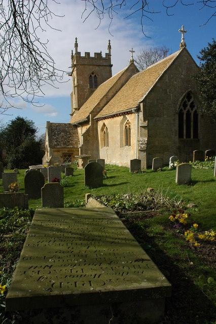 Woolstone Church