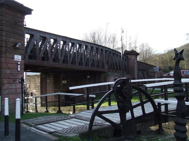 Bowling Swing bridge