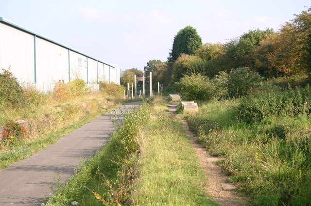 Site of the old Thame railway Station