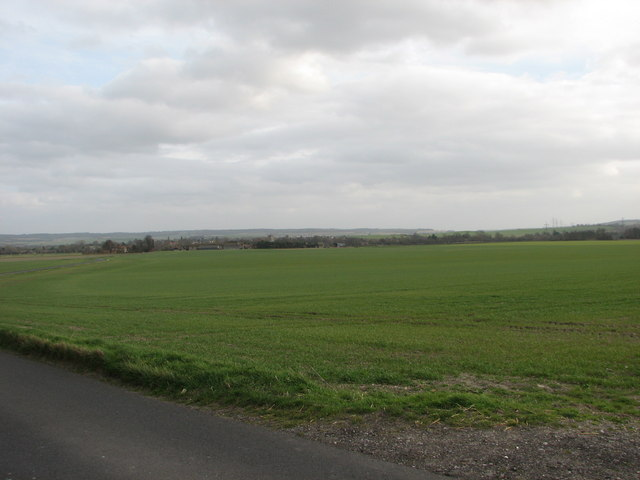 Cholsey from the hill