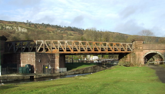 Bowling swing bridge