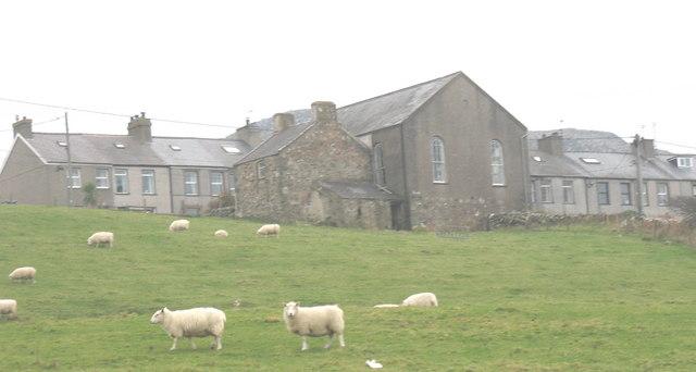 Pentra Pistyll Village