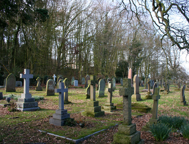 Graveyard of Holy Trinity Church, Bickerton