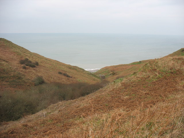The incised Pistyll valley