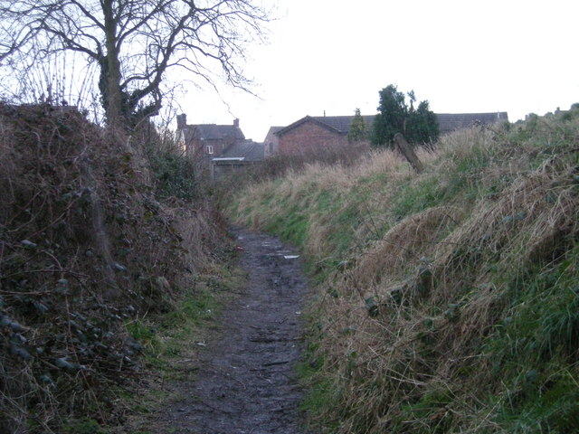 Path from the playing fields.