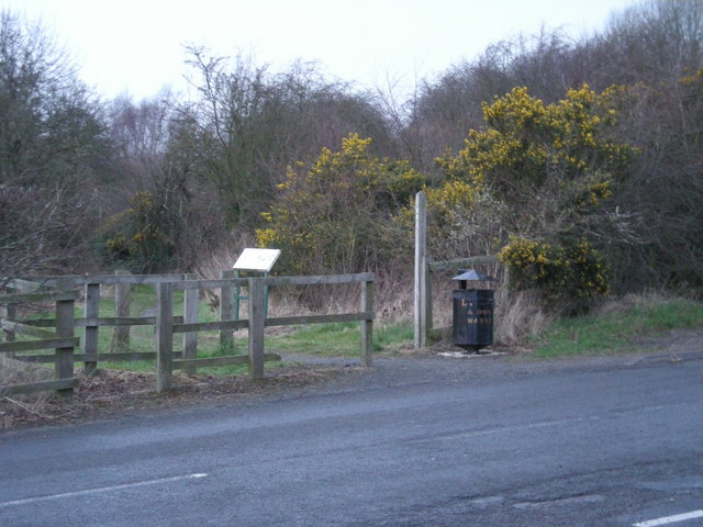 Footpath to Horsehay.