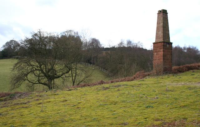 Copper mine chimney