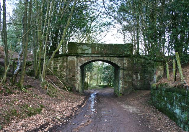 Bridge over Hill Lane, Peckforton Hills