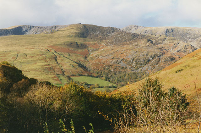 View towards Cadair Idris from the A487