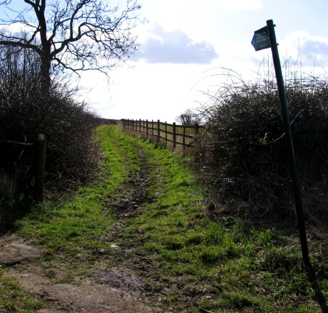 Midshires Way away from Pasture Lane