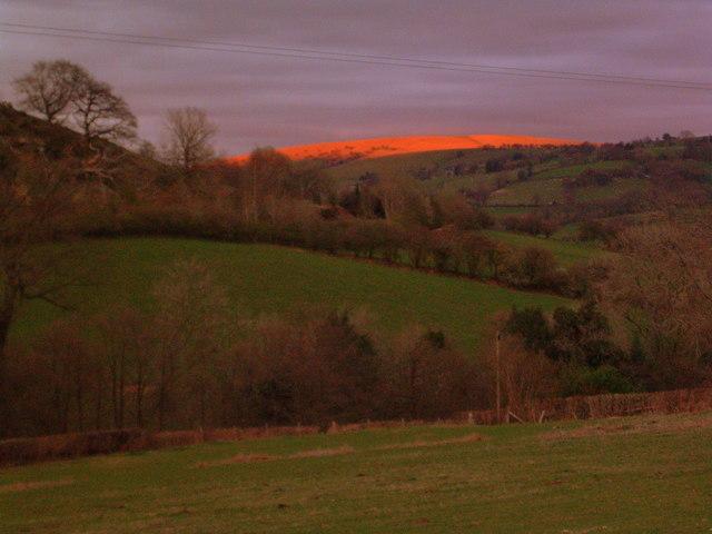 Fiery Red Hill