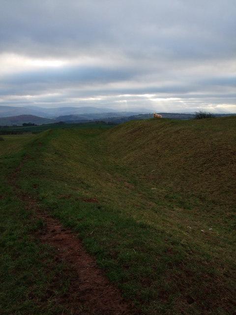 Twyn y Gaer Iron Age Hillfort