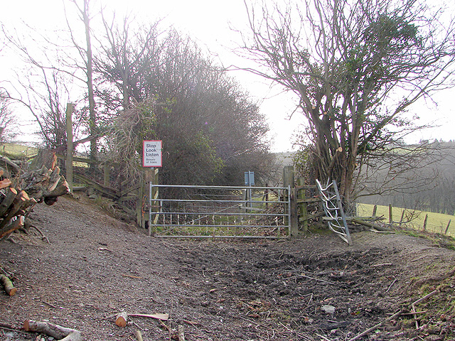 Vale of Rheidol Railway foot crossing