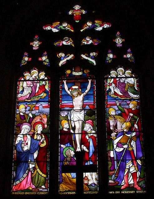 East window, All Saints' Church