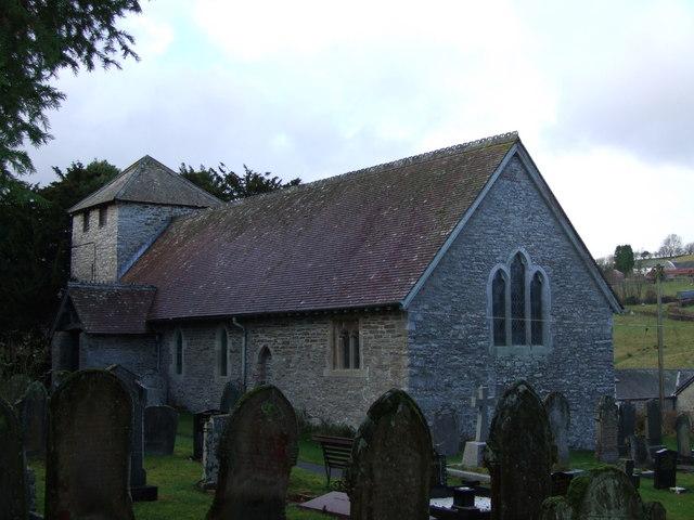 Church of St Dubricius, Gwenddwr
