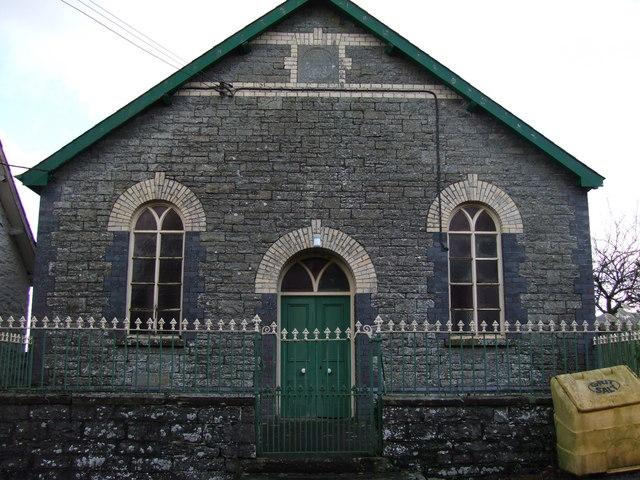 Bryn Seion Congregational Chapel, Gwenddwr