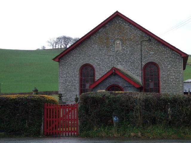 Hebron Congregational Chapel, Crickadarn