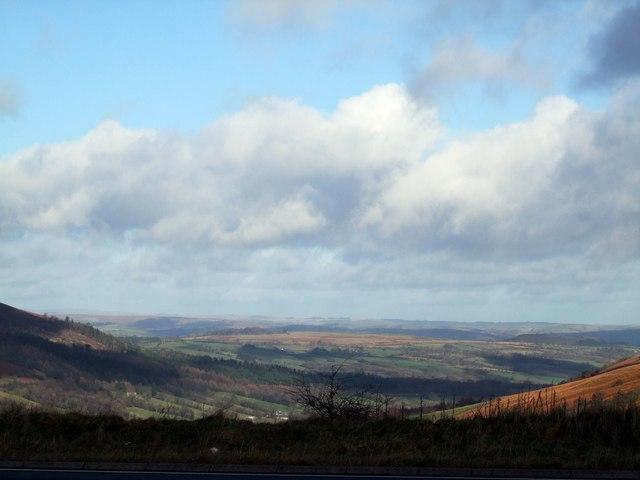 View towards Brecon