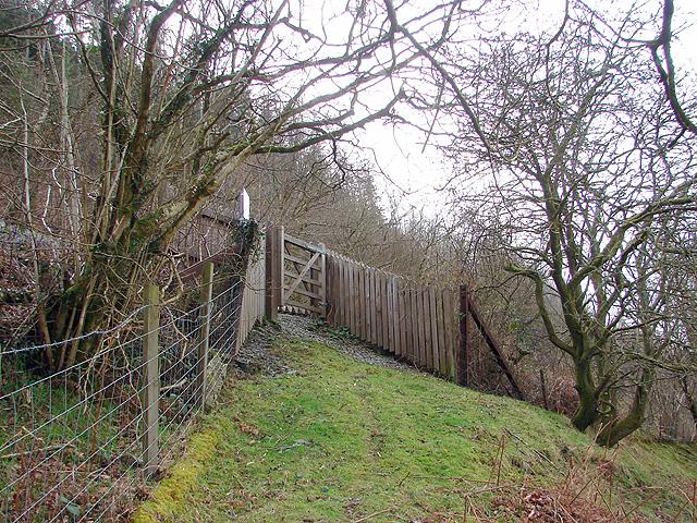 Vale of Rheidol Railway foot crossing