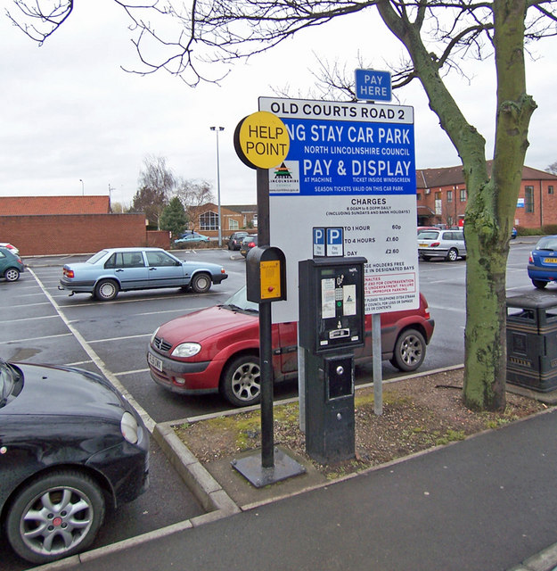 Old Courts Car Park