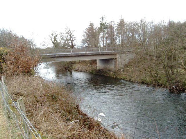 A76 bridge over Cluden Water