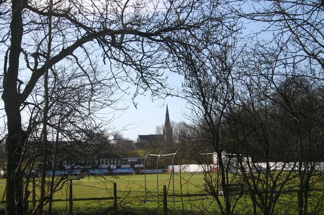 Distant church