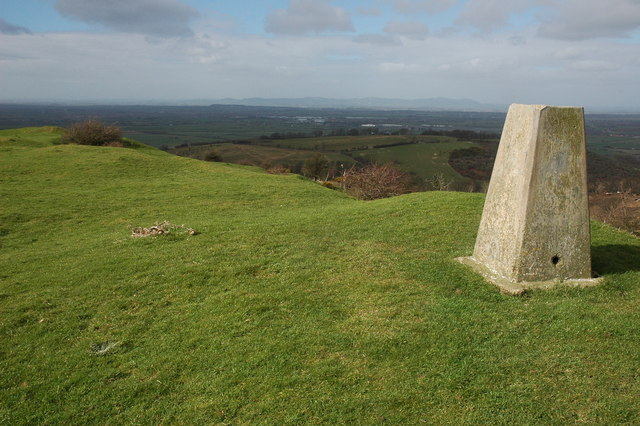 Trig Point on Oxenton Hill