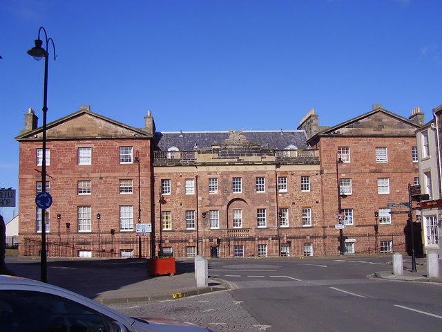 Dunbar - A block of flats