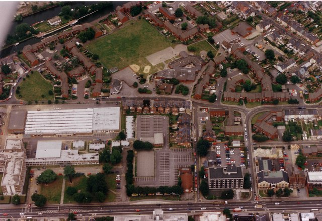 Aerial View of East Reading