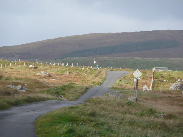 The southern end of the Committee Road