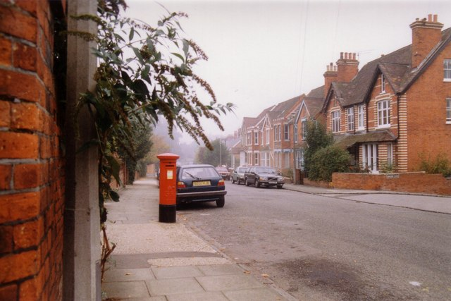 Vicarage Road post box