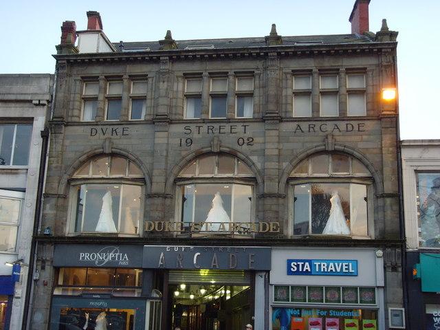 Duke street arcade, Cardiff