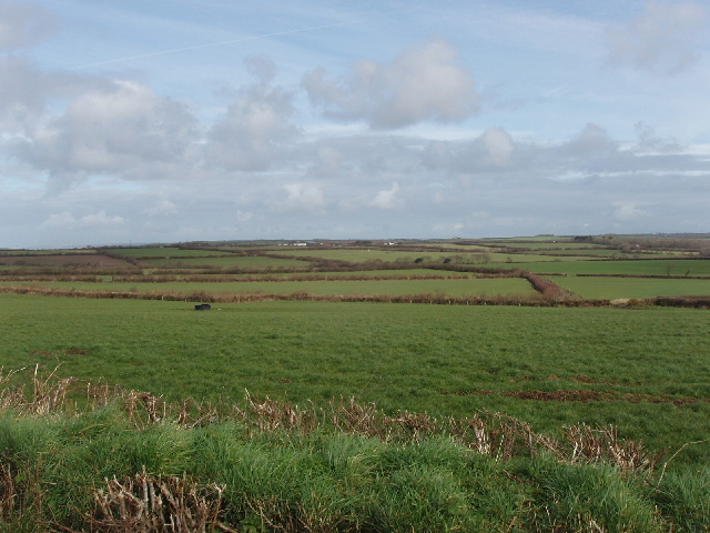 Fields by Broadlands Farm