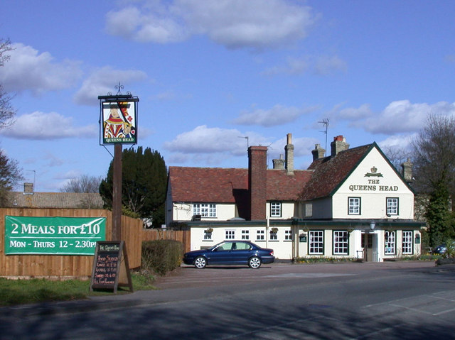 The Queens Head, Harston