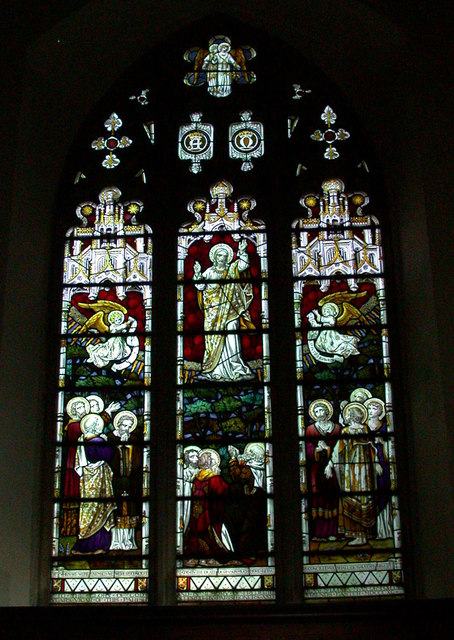 East window, All Saints' Church Harston