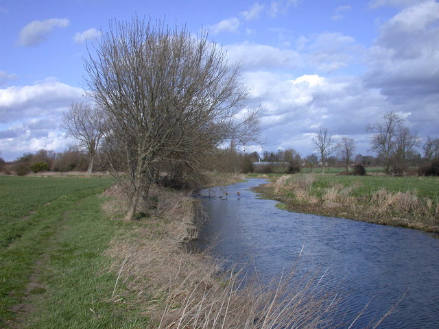 River Cam or Rhee SW of Harston