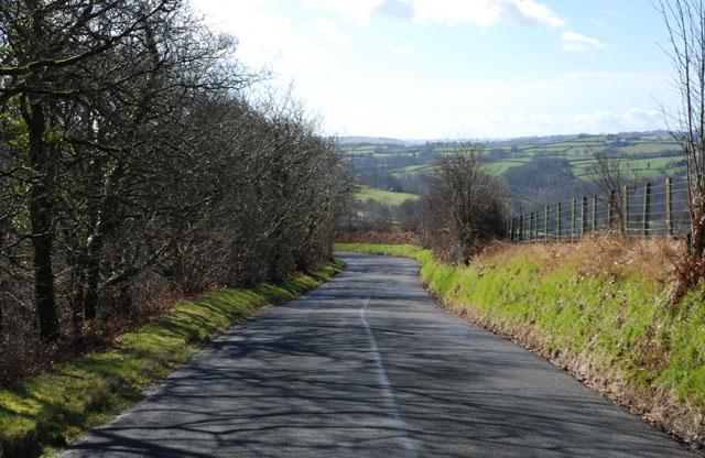 Road to Llangeitho