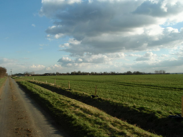Looking towards Great Gidding from Hemington Lodge Road