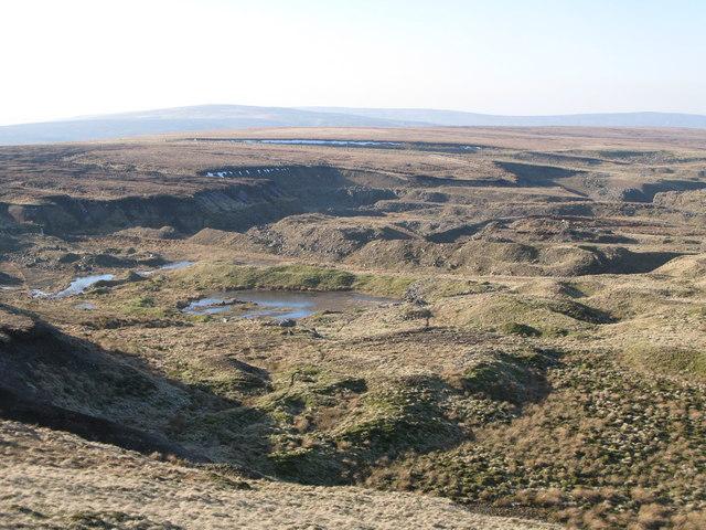 Disused quarry at Harthope Head (2)