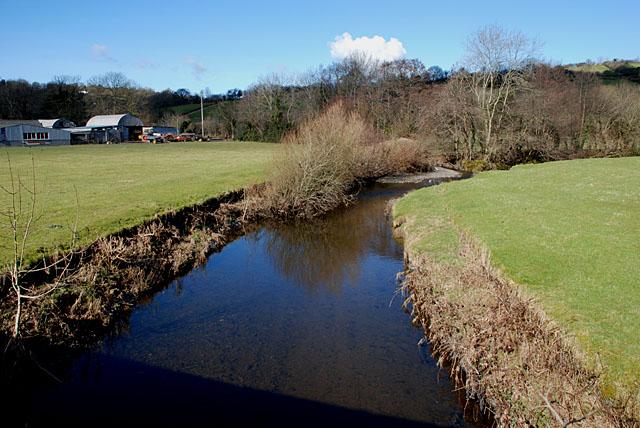 The Afon Aeron at Llangeitho