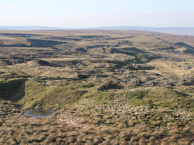 Disused quarry at Harthope Head (3)