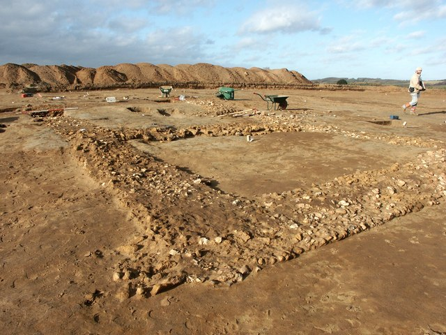 Archaeological Dig, Monks Field, Partney