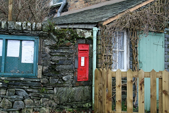 Victorian Letterbox at Longthwaite